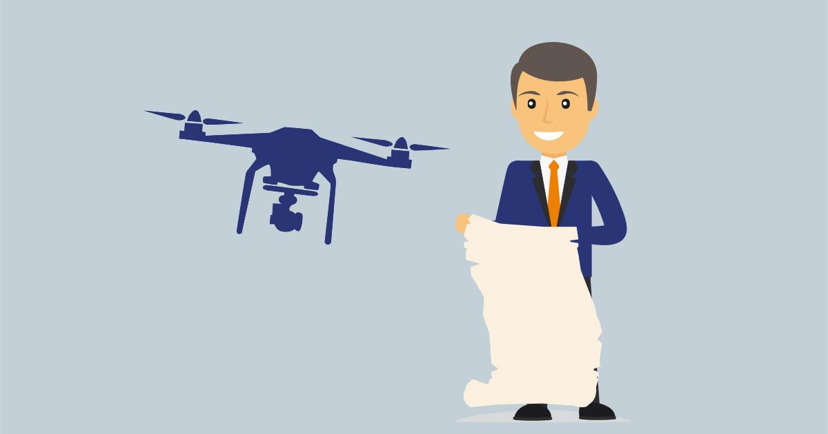 Regelwerk für Drohnen