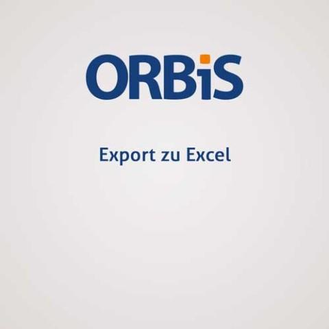 Export zu Excel