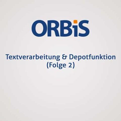 Textverarbeitung & Depotfunktion (Folge 2)